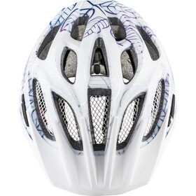 Alpina FB 2.0 Flash Casque Adolescents, white floral